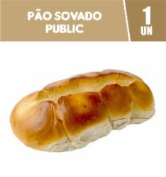 Pão Sovado Public 500g
