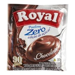 Pó Pudim Royal Zero 35g Chocolate