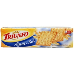 Biscoito Triunfo 200g Agua e Sal
