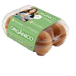Ovos Vermelhos Orgânicos Modelo com 6