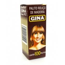 Palito Dente Gina Luxo com 100