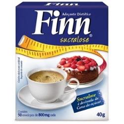 Adocante Em Po Finn Sucralose C 50 Saches