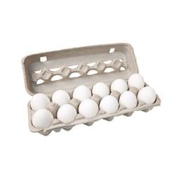 Ovos Modelo Extra Branco  Pol com 12