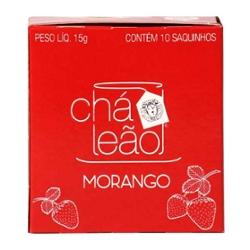Cha Leao 30g Morango 15 Saq