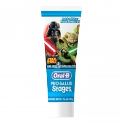 Creme Dental Oral B Stages 75ml Stars Wars