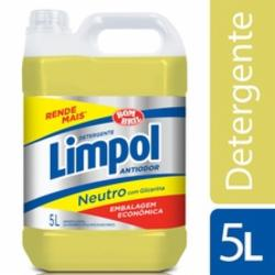 Detergente Líquido Limpol 5L Neutro