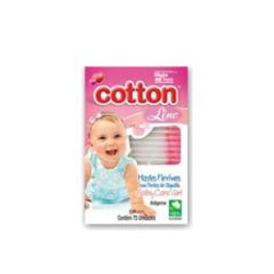 Hastes Flexiveis Cotton Line com 75 Baby Girl