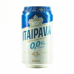 CERVEJA ITAIPAVA 350ML 0,0% ALCOOL LT