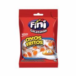 Bala de Gel Fini 90g Ovos Fritos