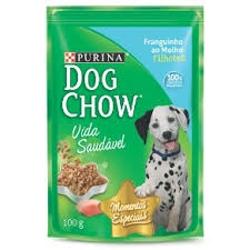 Alimento para Cães Dog Chow Sachet 100g Filhote Frango Molho