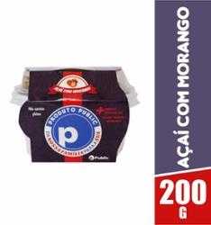 Açaí Public 200g Morango com Granola