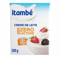 CREME DE LEITE ITAMBE 200G ZERO LACTOSE TP