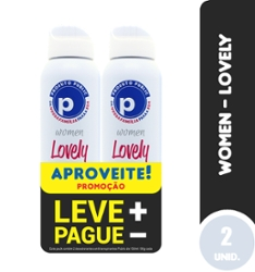 Kit Des Aero Public 150ml Women Lovely com 2 Lv+Pg-