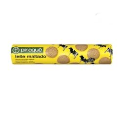 Biscoito Piraque 200g Leite Maltado