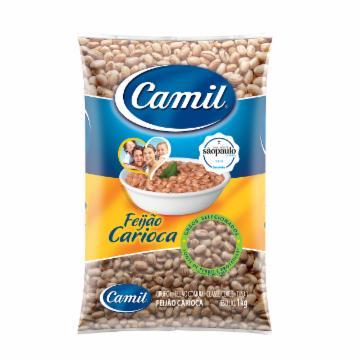 Feijão Carioca Camil 1kg