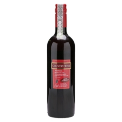 VINHO COUNTRY WINE 750ML TTO SUAVE BORDO