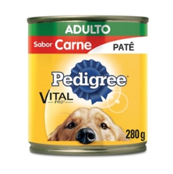 Alimento para Gatos Adulto Le Pets Lata 280g Carne