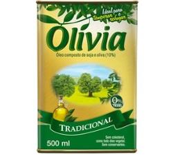 Oleo Comp Olivia 500ml Tradicional