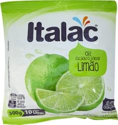 Refresco em Pó Italac 300g Limão