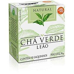 Cha Leao Verde Natural 16g C /10 Saquinhos