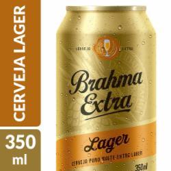 Cerveja Brahma Extra Lager 350ml Lata