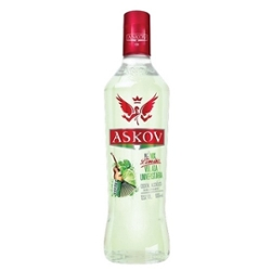 VODKA ASKOV 900ML LIMAO