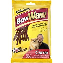 Bifinho P/ Caes Peq Baw Waw 50g Carne