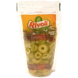 Azeitona Verde Rivoli 150g Fatiada Doy Pack