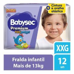 FRALDA BABYSEC PREMIUM JUMBINHO XXG C/12