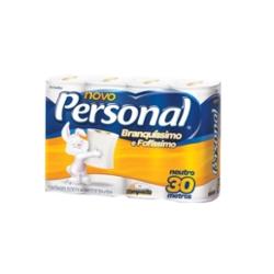 Papel Higiênico Personal Folha Simples 30m com 8