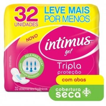 Absorvente Intimus Gel Tr Prot com 32 com Ab Seca