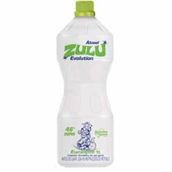 ALCOOL ZULU 46º 1L EUCALIPTO EVOLV
