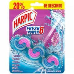Bloco Sanitário Harpic Power 36G Lavanda com 20% de desconto