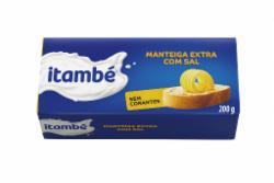 Manteiga Itambe 200g Tablete com Sal