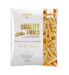 Batata Pre-Frita Quality Fries 2kg