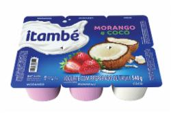 Iogurte Polpa Itambe 540g Morango/Coco