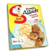 Frango Assado Sadia 350g com Pure Batata/Arroz