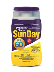 Protetor Solar Sunday FPS60 120ml