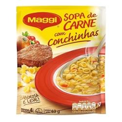 SOPA MAGGI  CARNE com CONCHINHA 63G