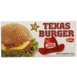 Hambúrguer Texas Seara 672g