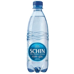 Água Mineral Schin 500ml com Gas