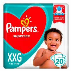 Fralda Pampers Supersec XXG com 18