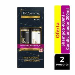 Kit Tresemme Shampoo 400ml + Condicionador 200ml Tresplex
