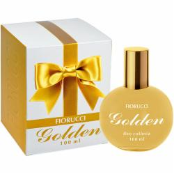 DEO COLONIA FEM 100ML FIORUCCI GOLDEN