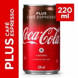 REFRIG COCA COLA 220ML CAFE ESPRESSO LT