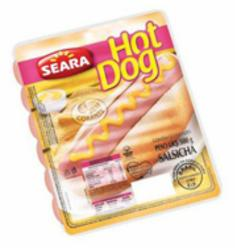 SALSICHA SEARA 500G HOT DOG