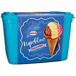 Sorvete Nestle 1,5 Napolitano