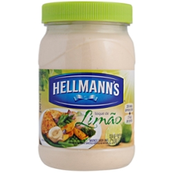 Maionese Hellmanns 250g Limão