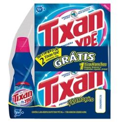 Lava Roupas Pó Tixan com 2 Gts Tira Manchas