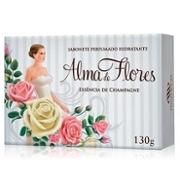 Sabonete Alma de Flores 130g Rosas Brancas